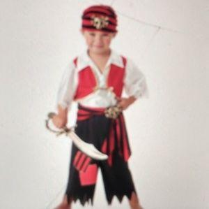Ahoy Matey Boys Pirate Costume